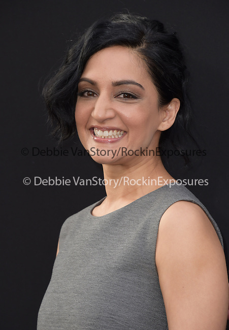 Archie Panjabi attends The Warner Bros. Pictures World Premiere of San Andreas held at the TCL Chinese Theatre  in Hollywood, California on May 26,2015                                                                               © 2015 Hollywood Press Agency