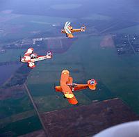 Stampe en Vertongen vliegtuigen.