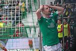 13.04.2019, Weser Stadion, Bremen, GER, 1.FBL, Werder Bremen vs SC Freiburg, <br /> <br /> DFL REGULATIONS PROHIBIT ANY USE OF PHOTOGRAPHS AS IMAGE SEQUENCES AND/OR QUASI-VIDEO.<br /> <br />  im Bild<br /> Davy Klaassen (Werder Bremen #30)<br /> entt&auml;uscht / enttaeuscht / traurig /<br /> <br /> <br /> Foto &copy; nordphoto / Kokenge