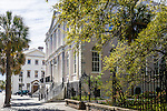 City hall on Broad St, Charleston, SC