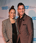 Sarah Bierstock and Danny Gorman during The Third Annual SDCF Awards at The The Laurie Beechman Theater on November 12, 2019 in New York City.