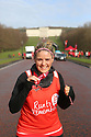 ON THE RUN AT STORMONT: 10/02/18 Hundreds of runners and walkers in red took over Stormont today to take part in Northern Ireland's only Red Dress Run, organised by Northern Ireland Chest Heart and Stroke.  Only in its second year the event has proved hugely popular with 400 people taking part. Job done for Lisa Morgan. Photo/Paul McErlane