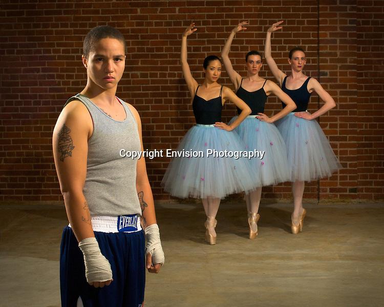 Tish Manuel, Boxer w Ballarinas