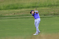 Matt Fitzpatrick (ENG) plays his 2nd shot on the 11th hole during Saturday's Round 3 of the 117th U.S. Open Championship 2017 held at Erin Hills, Erin, Wisconsin, USA. 17th June 2017.<br /> Picture: Eoin Clarke | Golffile<br /> <br /> <br /> All photos usage must carry mandatory copyright credit (&copy; Golffile | Eoin Clarke)