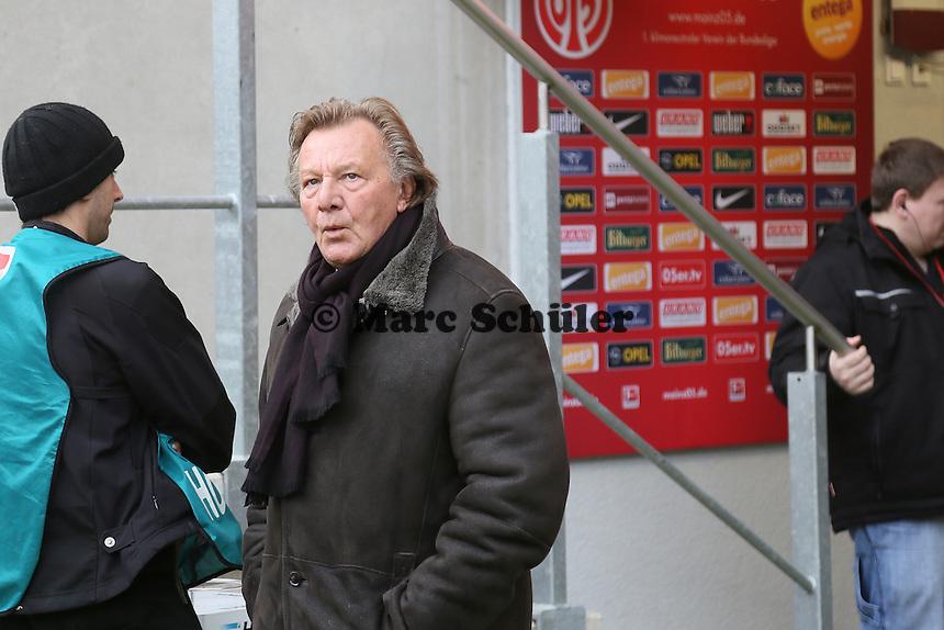 Praesident Harald Strutz (Mainz) - 1. FSV Mainz 05 vs. Eintracht Frankfurt, Coface Arena