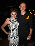 Shalita Grant & Billy Magnussen attending the 2013 Tony Awards Meet The Nominees Junket  at the Millennium Broadway Hotel in New York on 5/1/2013...