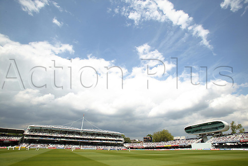 20 May 2004: General view of Lords during the 1st npower Test between England and New Zealand at Lords Photo: Steve Bardens/Action Plus...040520 cricket venue venues ground grounds