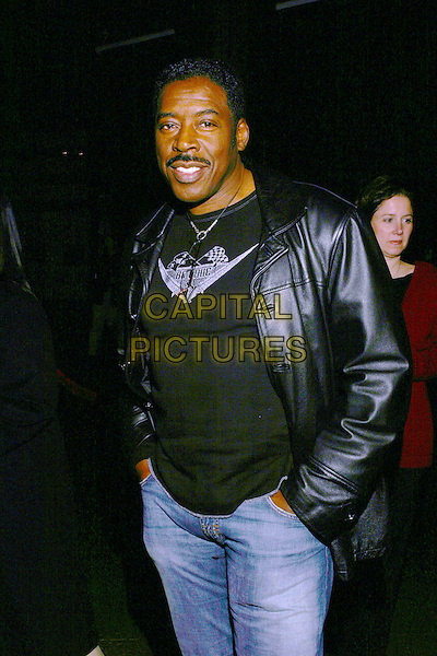 ERNIE HUDSON.Lackawanna Blues - HBO Screening held at The Directors Guild of America. West Holllywood, California..Photo Credit: Zach Lipp/AdMedia.February 3rd, 2005.half length, black leather jacket, hands in pockets.www.capitalpictures.com.sales@capitalpictures.com.© Capital Pictures.