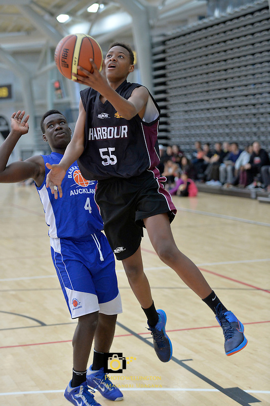 2013 U15 National Championship Basketball Tournament at ASB Sports Centre, Kilbirnie, Wellington, New Zealand on Friday 26 July 2013. <br /> Photo by Masanori Udagawa. <br /> www.photowellington.photoshelter.com