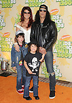 Slash w/ family at The 2009 Nickelodeon's Kids Choice Awards held at Pauley Pavilion in West Hollywood, California on March 28,2009                                                                     Copyright 2009 Debbie VanStory/RockinExposures