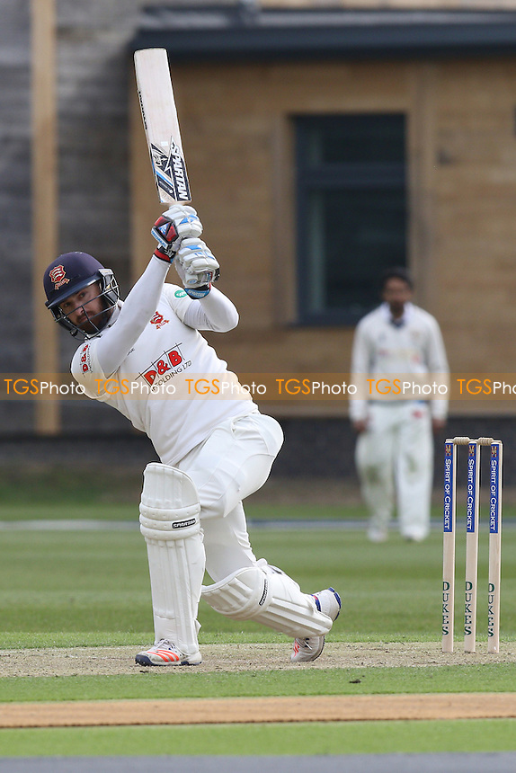 Jaik Mickleburgh hits four runs for Essex during Cambridge MCCU vs Essex CCC, English MCC University Match Cricket at Fenner's on 1st April 2016
