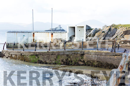 The old Bathing Slip in Fenit on Tuesday morning last.
