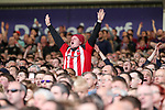 Sheffield United fan during the English League One match at Bramall Lane Stadium, Sheffield. Picture date: April 30th, 2017. Pic credit should read: Jamie Tyerman/Sportimage