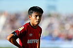 Takefusa Kubo, player of Mallorca from Japan during La Liga match. Oct 26, 2019. (ALTERPHOTOS/Manu R.B.)