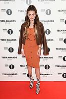 LONDON, UK. October 21, 2018: Amber Davies at tthe BBC Radio 1 Teen Awards 2018 at Wembley Stadium, London.<br /> Picture: Steve Vas/Featureflash