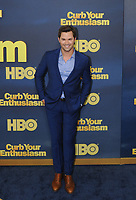 www.acepixs.com<br /> <br /> September 27 2017, New York City<br /> <br /> Andrew Rannells arriving at the premiere of Season 9 of 'Curb Your Enthusiasm' at the SVA Theater on September 27, 2017 in New York City. <br /> <br /> By Line: William Jewell/ACE Pictures<br /> <br /> <br /> ACE Pictures Inc<br /> Tel: 6467670430<br /> Email: info@acepixs.com<br /> www.acepixs.com