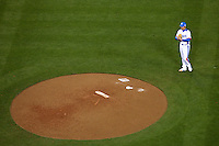23 March 2009: #12 Chang Yong Lim of Korea pitches against Japan during the 2009 World Baseball Classic final game at Dodger Stadium in Los Angeles, California, USA. Japan defeated Korea 5-3