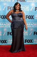 LOS ANGELES -  4: Amber Riley arriving at the 42nd NAACP Image Awards at Shrine Auditorium on March 4, 2011 in Los Angeles, CA