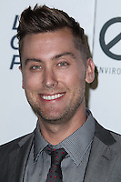 BURBANK, CA - OCTOBER 19: Singer Lance Bass arrives at the 23rd Annual Environmental Media Awards held at Warner Bros. Studios on October 19, 2013 in Burbank, California. (Photo by Xavier Collin/Celebrity Monitor)