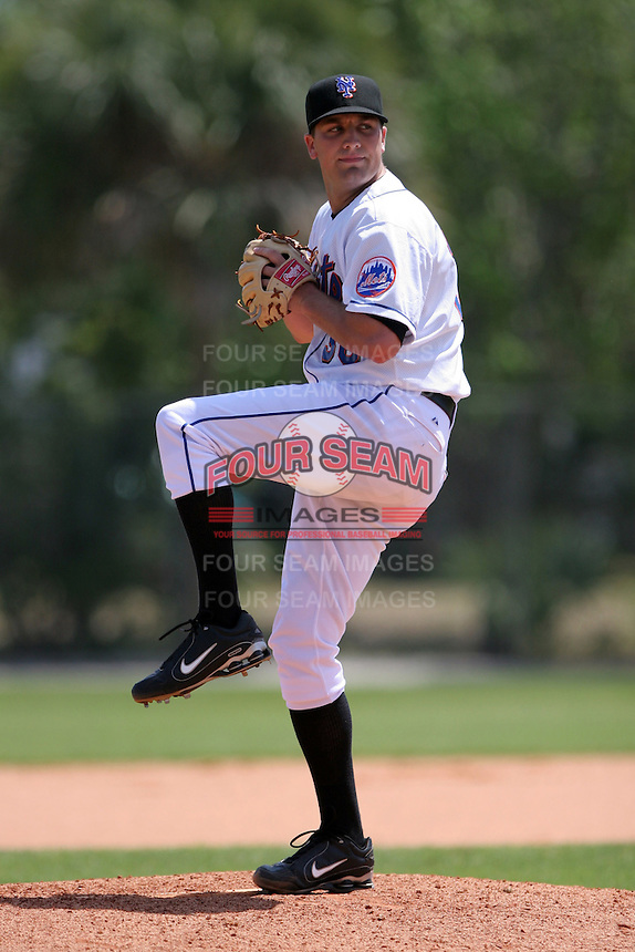 New York Mets minor leaguer Kevin Mulvey during Spring Training at the Carl Barger Training Complex on March 22, 2007 in Melbourne, Florida.  (Mike Janes/Four Seam Images)