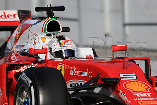04.03.2016. Circuit de Barcelona Catalunya, Barcelona, Spain, Formula 1  Test 2 Day 4.  Scuderia Ferrari SF16-H – Sebastian Vettel