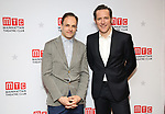 "Jonny Lee Miller and Bertie Carvel attends the Broadway Opening Night After Party for ""Ink"" at the Copacabana on April 24, 2019  in New York City."