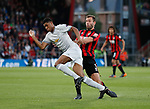 Marcus Rashford of Manchester United beats Steve Cook of Bournemouth for pace during the premier league match at the Vitality Stadium, Bournemouth. Picture date 18th April 2018. Picture credit should read: David Klein/Sportimage