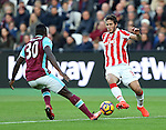 Stoke's Ramadan Sobhi in action during the Premier League match at the London Stadium, London. Picture date November 5th, 2016 Pic David Klein/Sportimage