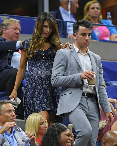 FLUSHING NY- AUGUST 29: Hilaria Baldwin seen during opening night ceremony on Arthur Ashe Stadium at the USTA Billie Jean King National Tennis Center on August 29, 2016 in Flushing Queens. Credit: mpi04/MediaPunch