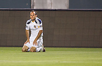 LA Galaxy forward Landon Donovan (10) looks for a call after being taken down. The LA Galaxy and Toronto FC played to a 0-0 draw at Home Depot Center stadium in Carson, California on Saturday May 15, 2010.  .