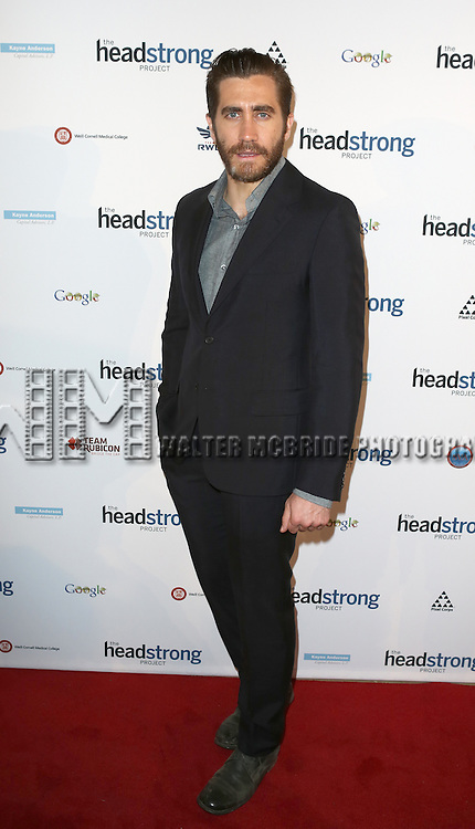 Jake Gyllenhaal attending The Headstrong Project - 'Words Of War' Event  at IAC HQ in New York City on 5/8/2013...