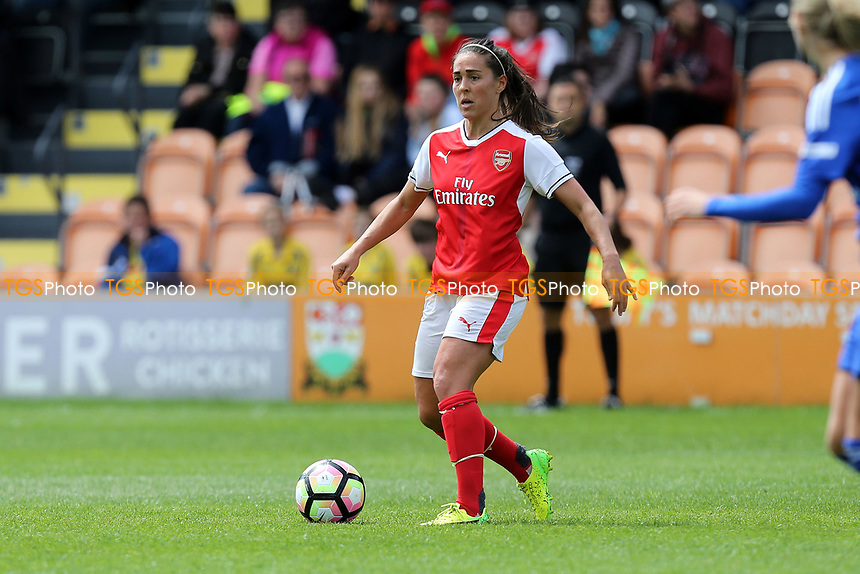 Fara Williams of Arsenal Ladies during Arsenal Ladies vs Birmingham City Ladies, FA Women's Super League FA WSL1 Football at the Hive Stadium on 20th May 2017