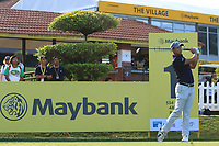Pavit Tangkamolprasert (THA) on the 1st tee during Round 1 of the Maybank Championship at the Saujana Golf and Country Club in Kuala Lumpur on Thursday 1st February 2018.<br /> Picture:  Thos Caffrey / www.golffile.ie<br /> <br /> All photo usage must carry mandatory copyright credit (© Golffile | Thos Caffrey)