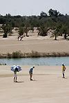 Abu Dhabi, United Arab Emirates (UAE). March 20th 2009.<br /> Al Ghazal Golf Club.<br /> 36th Abu Dhabi Men's Open Championship.<br /> Inki Kim