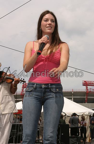 June 13th, 2004:  Nashville, TN, USA: CMA Music Festival Convention RiverFront Stages Day 4.  The Jenkins Performs.  Mandatory Photo Credit:  Ferguson/Admedia (c) Kevin Ferguson/2004