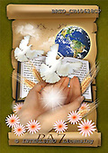 Alfredo, EASTER RELIGIOUS, OSTERN RELIGIÖS, PASCUA RELIGIOSA, paintings+++++,BRTOCH40628CP,#er# dove,paloma ,holy bible