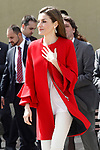 Queen Letizia of Spain attends the proclamation of the winner of the '2017 Princess of Girona Foundation' Social category. March 30,2017. (ALTERPHOTOS/Acero)