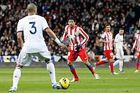 Diego Costa during La Liga Match. December 01, 2012. (ALTERPHOTOS/Caro Marin)