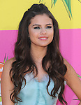 Selena Gomez at The Nickelodeon's Kids' Choice Awards 2013 held at The Galen Center in Los Angeles, California on March 23,2013                                                                   Copyright 2013 Hollywood Press Agency