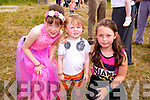 Alia Connolly, Courage Breen and Sasha Breen  at the Enchanted Fairy Festival in Kilflynn on Sunday