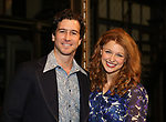 Evan Todd and Melissa Benoit backstage after her Opening Night debut in 'Beautiful-The Carole King Musical' at the Stephen Sondheim on June 12, 2018 in New York City.