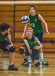 2013-10-15 HS: Vermont Commons School at Burlington High Volleyball