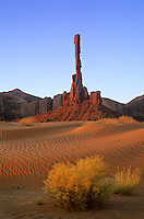 Sunrise on the Totem Pole at Monument Valley Navajo Tribal Park, Arizona, AGPix_0398.