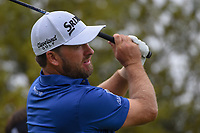 Graeme McDowell (NIR) watches his tee shot on 10 during day 3 of the Valero Texas Open, at the TPC San Antonio Oaks Course, San Antonio, Texas, USA. 4/6/2019.<br /> Picture: Golffile | Ken Murray<br /> <br /> <br /> All photo usage must carry mandatory copyright credit (© Golffile | Ken Murray)