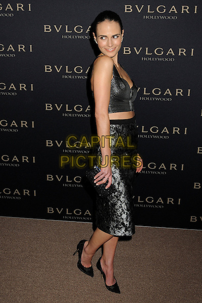 LOS ANGELES, CA - FEBRUARY 25 - Jordana Brewster. BVLGARI &quot;Decades of Glamour&quot; Oscar Party held at Soho House on 25th February 2014.<br /> CAP/ADM/BP<br /> &copy;Byron Purvis/AdMedia/Capital Pictures