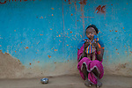 Mother and child, Madhya Pradesh, India