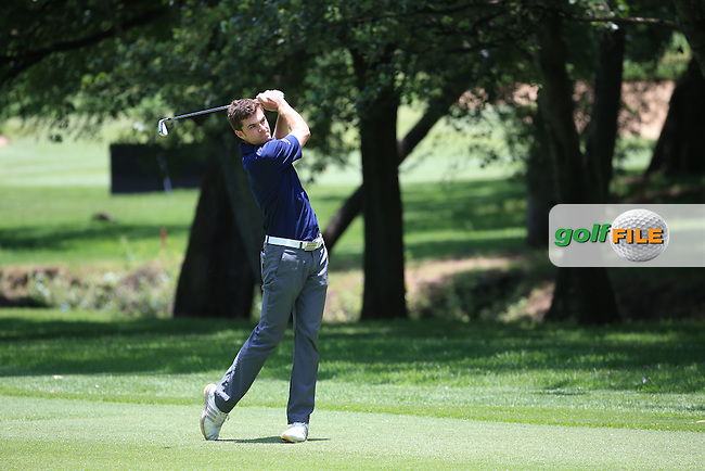 Laurie Canter (ENG) in action during Round Three of the 2016 BMW SA Open hosted by City of Ekurhuleni, played at the Glendower Golf Club, Gauteng, Johannesburg, South Africa.  09/01/2016. Picture: Golffile | David Lloyd<br /> <br /> All photos usage must carry mandatory copyright credit (&copy; Golffile | David Lloyd)