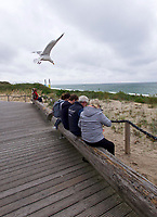 Sylt, Germany. Wenningstedt-Braderup. <br /> 50 Years of Gosch fish restaurant. Gosch am Kliff.