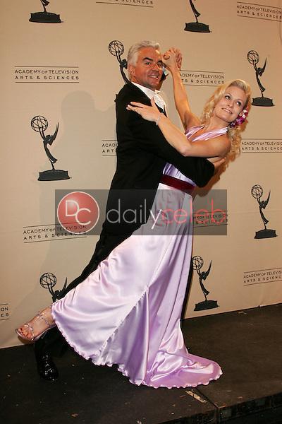 John O'Hurley and friend<br /> In the press room at the 2005 Primetime Creative Arts Emmy Awards, Shrine Auditorium, Los Angeles, CA 09-11-05<br /> David Edwards/DailyCeleb.Com 818-249-4998