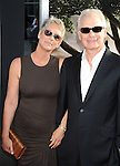 "HOLLYWOOD, CA. - July 26: Jamie Lee Curtis and Christopher Guest arrive at the ""Flipped"" Los Angeles Premiere at ArcLight Cinemas Cinerama Dome on July 26, 2010 in Hollywood, California."